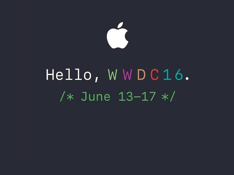 WWDC 2016 : Apple confirme la keynote pour le 13 juin