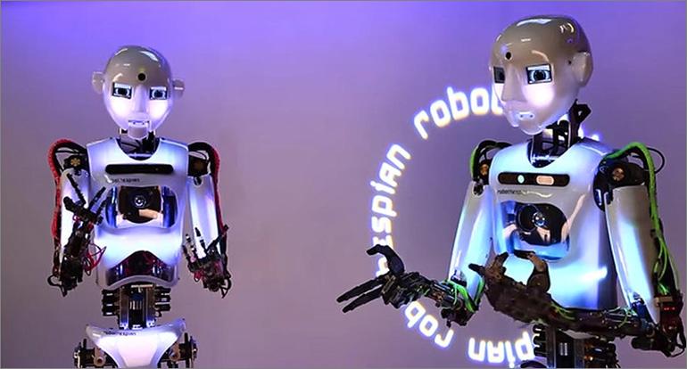 Des robots