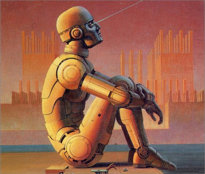 Robot penseur