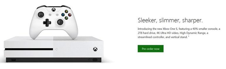Xbox One S (Slim)