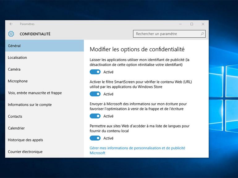 Windows 10 : la CNIL menace Microsoft de sanction et liste les problèmes à corriger
