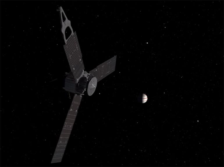 NASA: la sonde Juno réussit à entrer en orbite autour de Jupiter