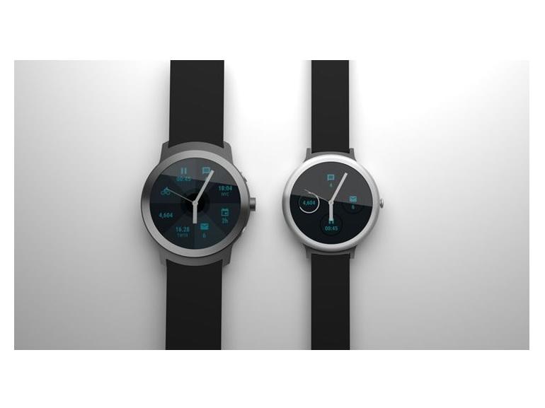 Les prochaines montres connectées de Google se dévoilent en rendus 3D