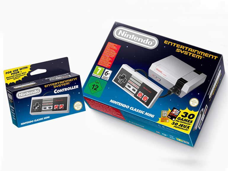 La Nintendo NES Classic Mini de retour en magasin l'année prochaine