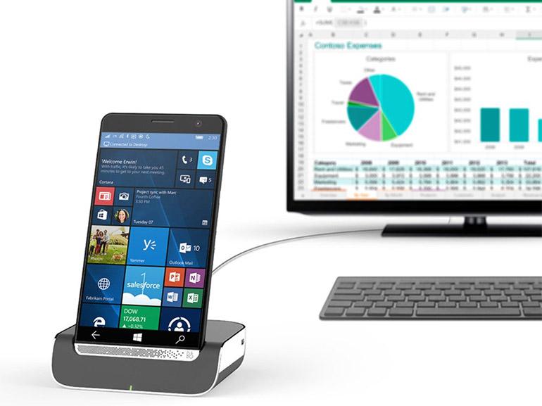 HP Elite X3 : Continuum en démo vidéo sur le smartphone Windows 10 mobile