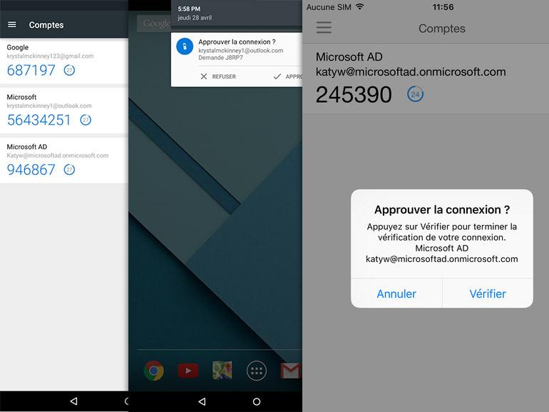 Microsoft Authenticator : l'identification en 2 étapes sur iOS et Android
