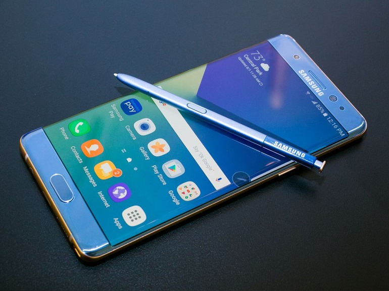 Galaxy Note 7 FE : Samsung envisagerait un lancement à l'international