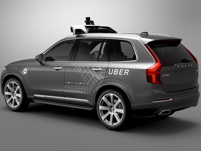 Uber suspend ses tests de voiture autonome après un accident
