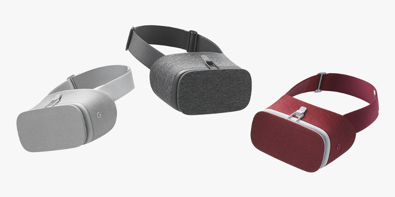 Daydream View : trois couleurs