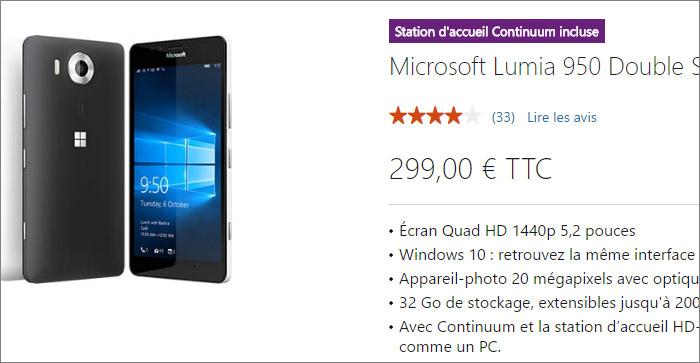 Promotion Lumia 950