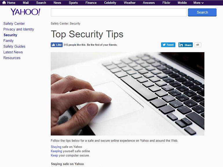 Piratage Yahoo : comment protéger son compte ?