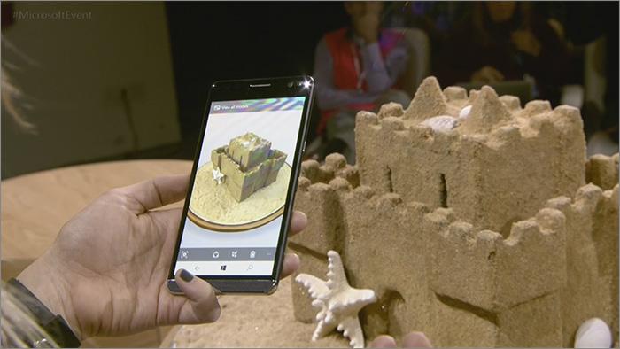 Rendu 3D smartphone