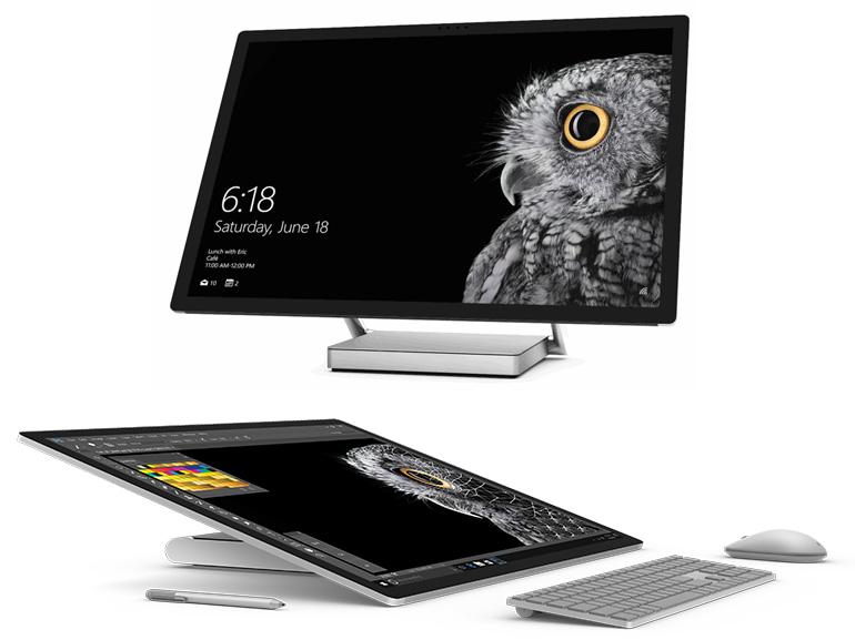 Microsoft Surface Studio : le PC tout-en-un au service des pros de l'image