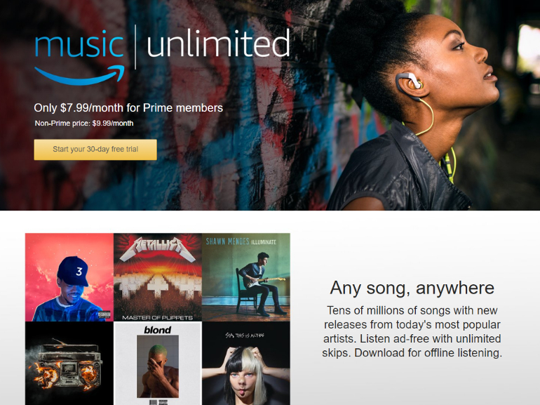 Amazon Music Unlimited : le service de streaming est disponible en France