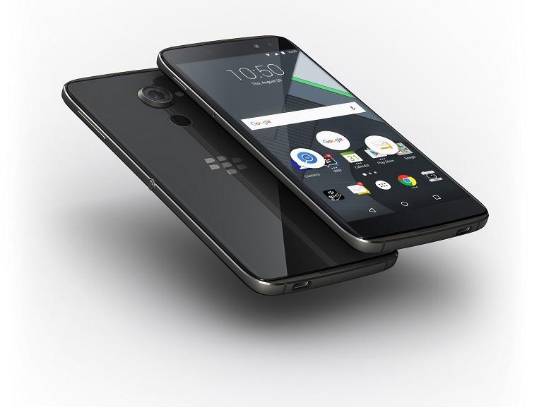 Blackberry persiste avec le DTEK60