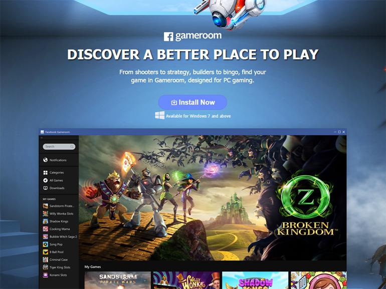 Gameroom : le Steam de Facebook et Unity est disponible