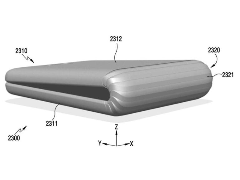 Le smartphone Samsung avec écran pliable n'arriverait pas avant 2018