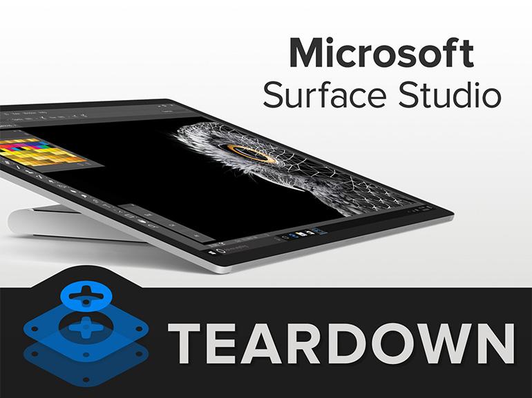iFixit démonte un Surface Studio pour y trouver un processeur ARM