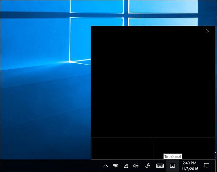 Touchpad virtuel Windows 10