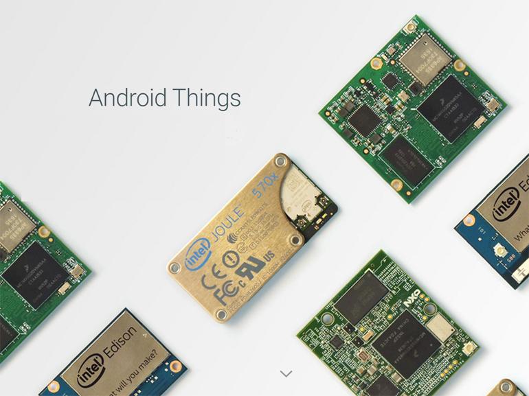 Android Things : Google présente son nouvel OS pour objets connectés