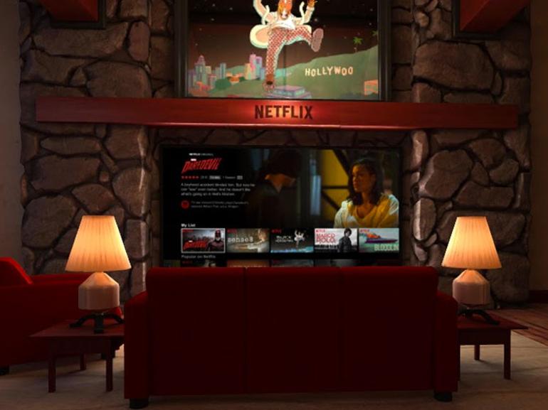 Netflix a déjà sa version VR pour le casque Daydream View de Google