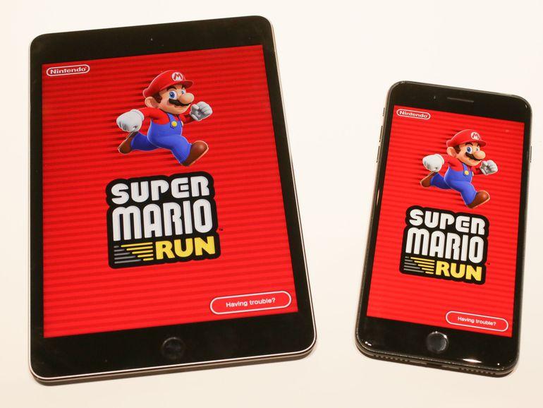 Super Mario Run écrase Pokémon Go sur son passage