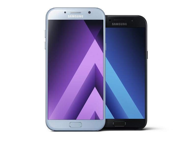 Et voilà, les Samsung Galaxy A3, A5 et A7 de 2017 sont officiels