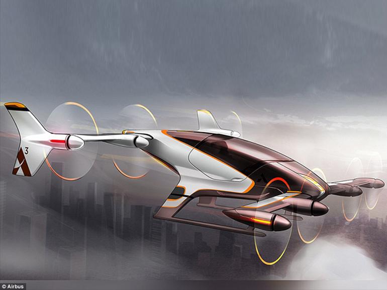 Airbus : son taxi volant autonome en test fin 2017 ?