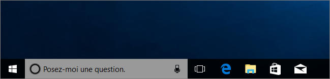 Cortana en gris