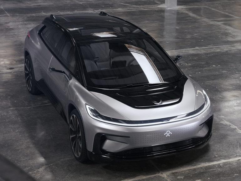 CES 2017 : Faraday Future dévoile sa voiture électrique, une anti Tesla ?