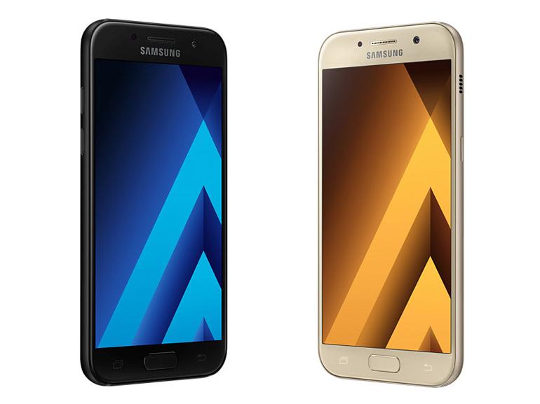 Les Samsung Galaxy A3 et A5 (2017) sont disponibles en précommande