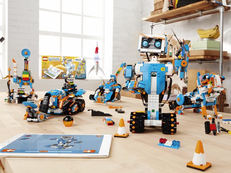 CES 2017 : Lego dévoile de nouveaux robots programmables