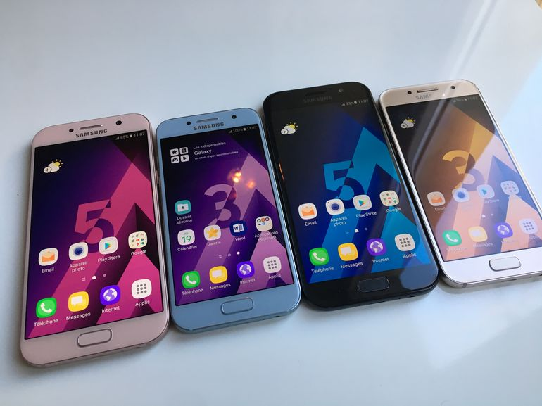 Le Galaxy A5 2017 est disponible, quelles différences avec le modèle 2016 ?