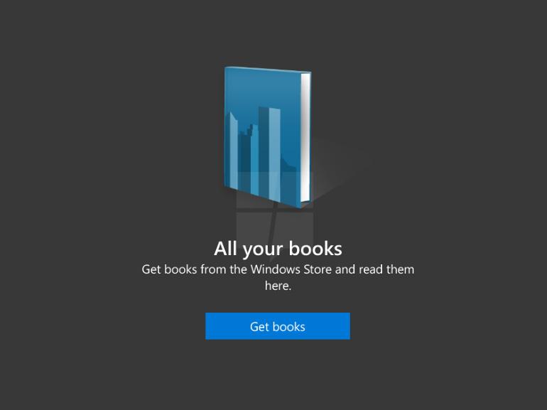 Windows 10 : une place pour les ebooks dans le Windows Store