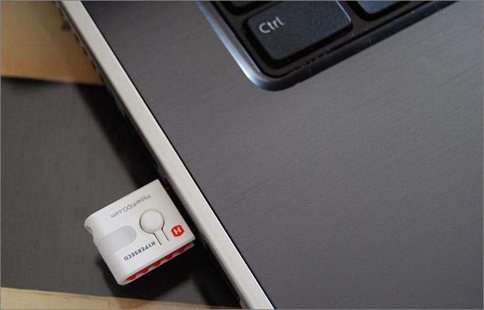 Clé U2F dans un PC portable