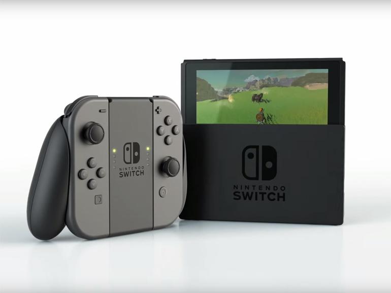 Nintendo Switch : un client reçoit la console en avance et publie une vidéo