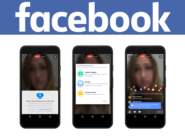 Facebook : l'intelligence artificielle pour prévenir les suicides