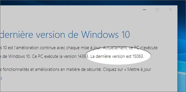 Assistant de mise à jour Windows 10