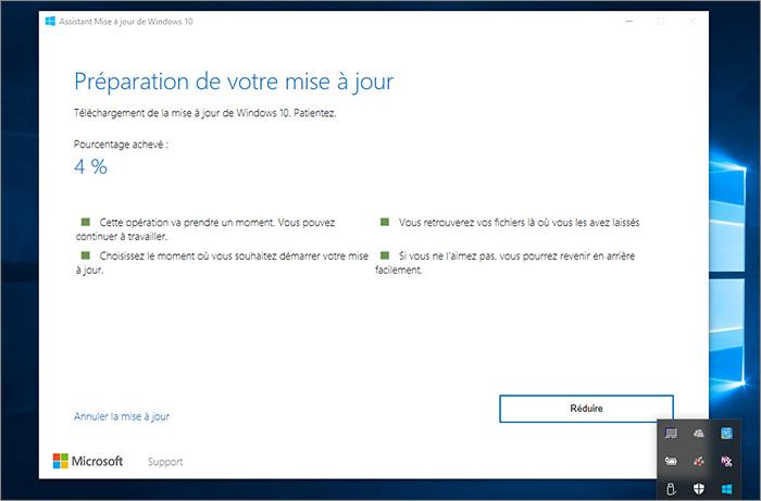 Télécharger Windows 10 Creators Update