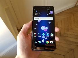 HTC U11, le smartphone à presser