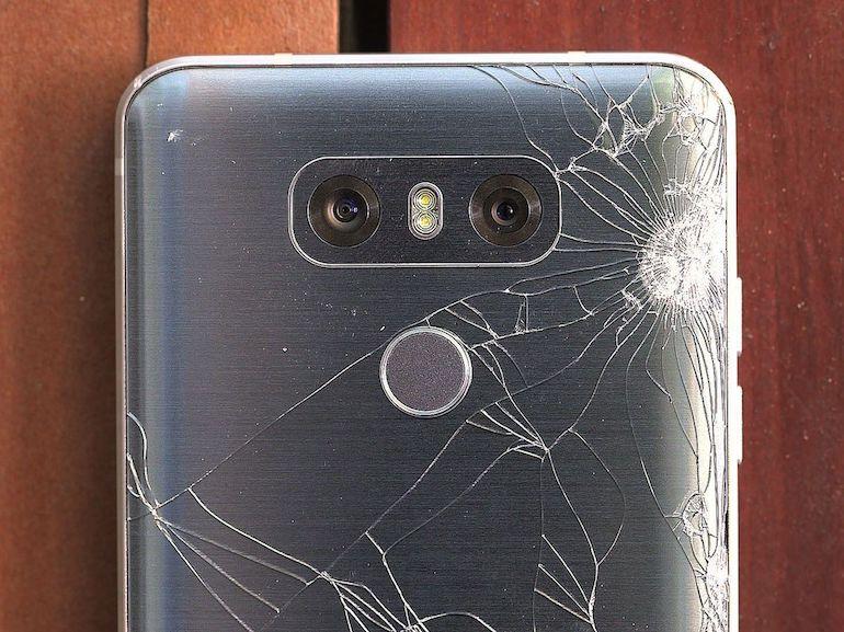 Crash test du LG G6 : une résistance inégale