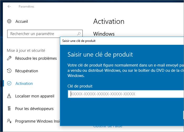 Mise à niveau Windows 10 S