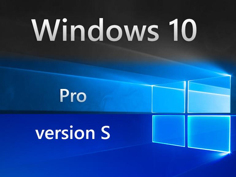 Windows 10 S : la restauration possible après une mise à jour Windows 10 Pro