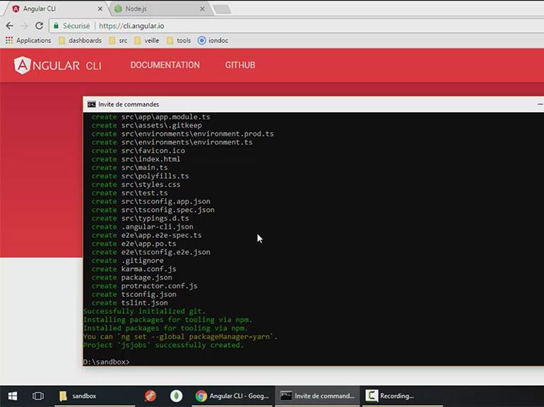 Formation en ligne Angular 4, Node.js et JWT à 10€ au lieu de 105€