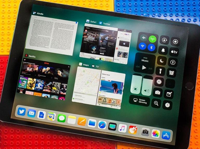 iPad 2018 : le bouton