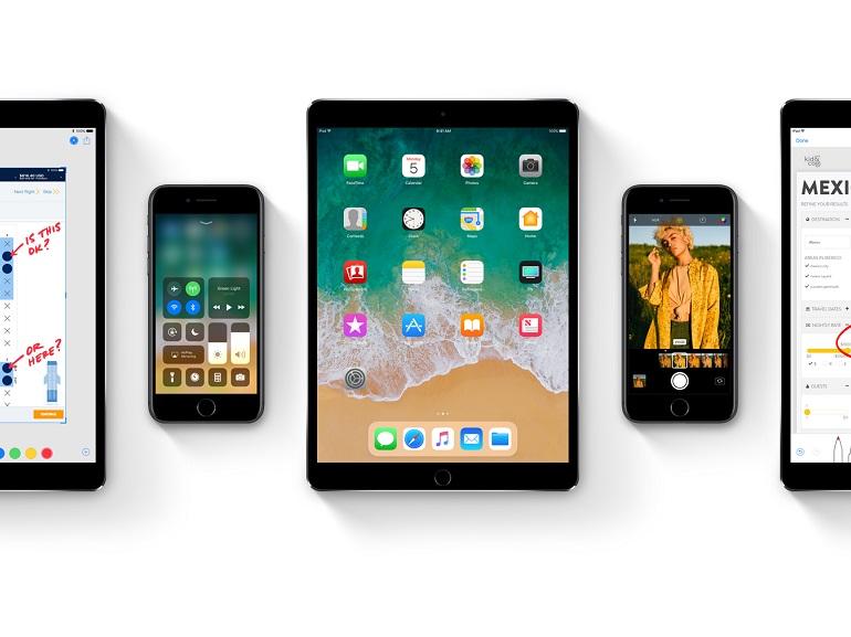 iOS 11 disponible dans une première version bêta grand public