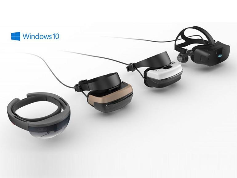 Les nouveaux casques de réalité mixte Windows 10 en images