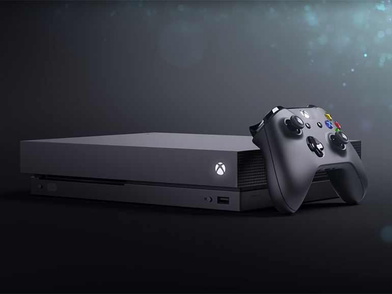 Test : Microsoft Xbox One X