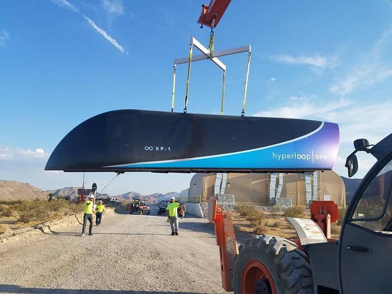 Hyperloop One : le premier test du