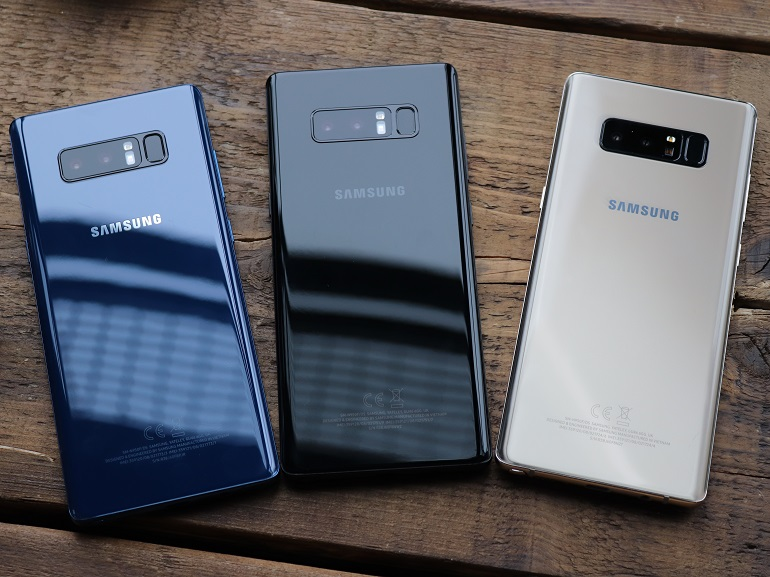 Le Galaxy Note 8 égale l'iPhone 8 Plus sur le terrain de la photo selon DxOMark